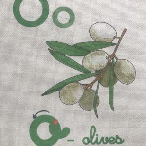 close up dessin alphabet