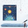 affiche décorative sur l'astronomie, le système solaire et les constellations