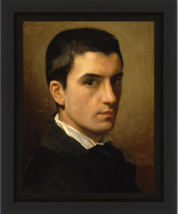 Léon Bonnat peintre, autoportrait, 19ème siècle, Bayonne, musée Bonnat-Helleu