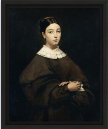 Aline Chassériau par Théodore Chassériau 1835 portrait par Théodore Chassériau