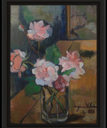peinture à l'huile par Suzanne Valadon 1936, brest Musée des beaux arts
